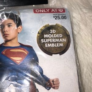 Justice League Boys superhero Halloween costume